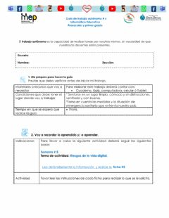 Interactive worksheet Riesgos de internet