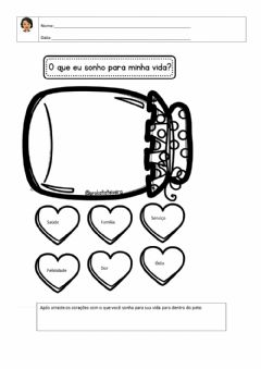 Interactive worksheet Sonhos