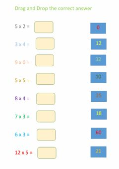 Interactive worksheet Time table