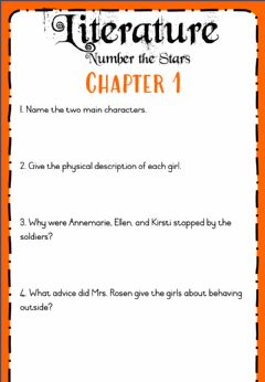 Ficha interactiva Week 21 - Number the Stars Chapter 1 and 2
