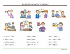 Interactive worksheet Chinese