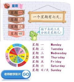 Interactive worksheet 星期
