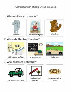 Interactive worksheet Sheep in a Jeep Comp Check