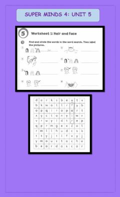 Interactive worksheet SUPER MINDS 4 unit 5