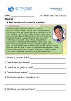 Interactive worksheet Review 3rd Grade