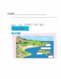 Interactive worksheet Worksheet on Geography