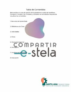Interactive worksheet Tabla de contenidos