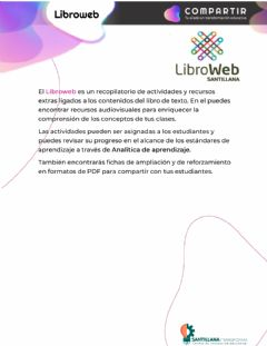 Interactive worksheet Libroweb