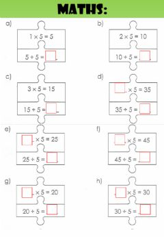 Interactive worksheet WEEK 22: TUESDAY: Puzzles