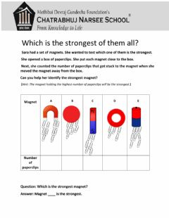 Interactive worksheet Which is the strongest of them all?