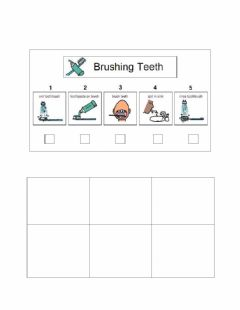 Interactive worksheet Brushing your teeth
