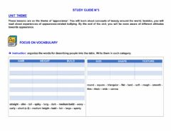 Ficha interactiva Study guide n°3