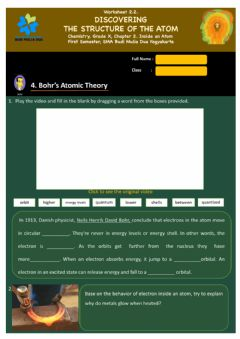 Interactive worksheet 2.2 Discovering atomic structure (part 2)