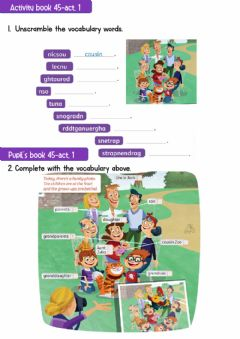 Ficha interactiva Pupil's Book -Activity Book Page 45