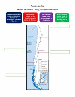 Interactive worksheet Paisaje de Chile