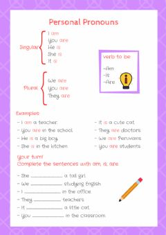 Interactive worksheet Personal Pronouns