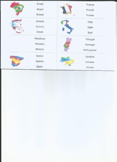 Interactive worksheet Countries (Next Move)