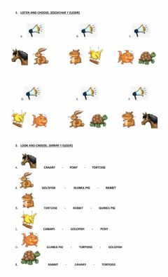 Interactive worksheet Big Surprise 4 - Unit 2