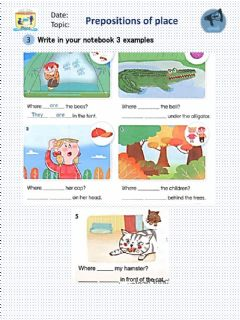 Interactive worksheet Prepositions of Time Exercise 1