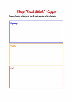 Interactive worksheet Snack Attack Copy 2
