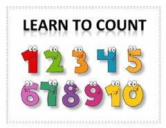 Ficha interactiva Number worksheets 1 to 4