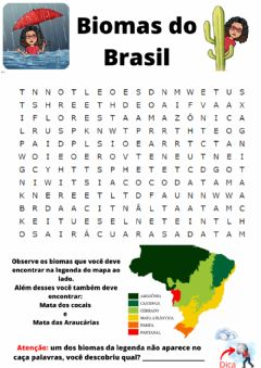 Interactive worksheet Biomas do Brasil