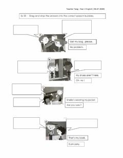 Interactive worksheet Social expressions
