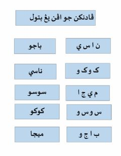 Interactive worksheet Sambungan huruf