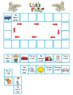 Interactive worksheet Let's play domino!