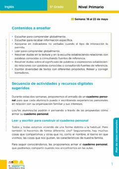 Ficha interactiva Page 1 - May-June Booklet