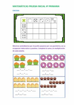 Interactive worksheet Multiplicación