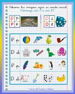 Interactive worksheet Conciencia fonológica P - D