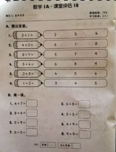 Interactive worksheet 数学评估18