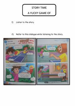 Ficha interactiva A Yucky Game of Table Tennis (adapted from Get Smart Plus 3: Student's Book)