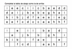 Interactive worksheet Letras loquisimas