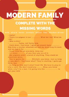 Interactive worksheet Modern Family