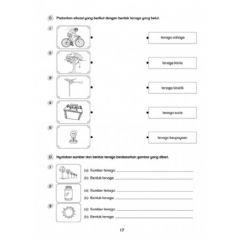 Interactive worksheet Tenaga