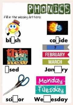 Ficha interactiva Revision Week A - English 4 - Thursday