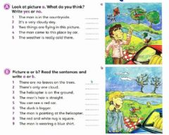 Interactive worksheet A-Choose the correct option B-Write A or B