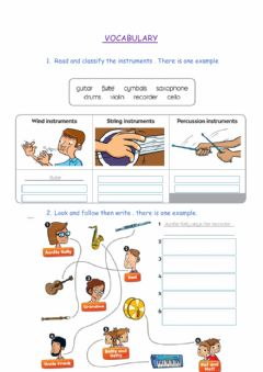 Interactive worksheet Unit 3 vocabulary