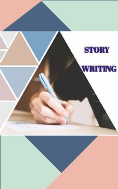 Interactive worksheet STORY WRITING COVER