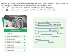 Interactive worksheet Complete the fact file