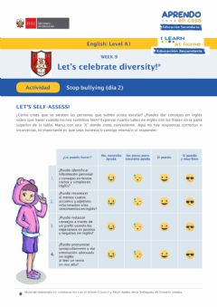 Ficha interactiva Wee 9-STOP BULLYING