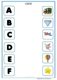 Interactive worksheet Alfabeto