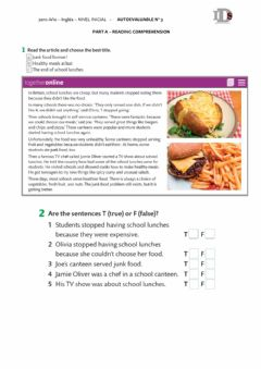 Interactive worksheet Describing food