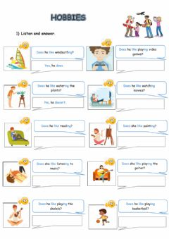 Interactive worksheet Extra practice 4 form