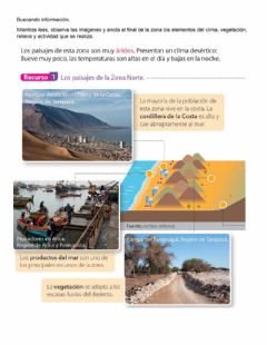 Interactive worksheet Zonas de Chile