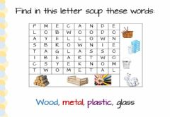 Interactive worksheet Letter soup