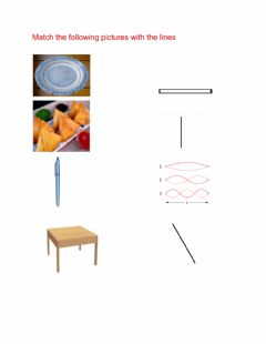 Interactive worksheet Fun with lines