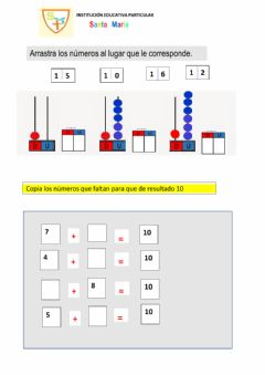 Interactive worksheet Practicando